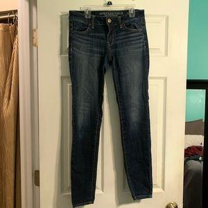American Eagle denim skinny jeans